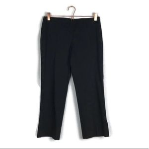 THEORY black crop ankle business pants size 2